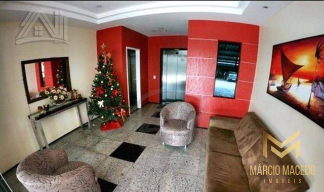 Aptº com 3 dormitórios à venda, 105 m² por R$ 550.000 - Fátima - Fortaleza/CE - Foto 10