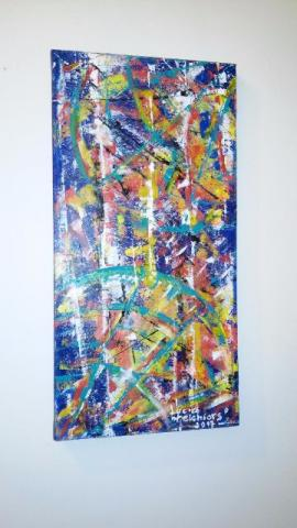 Pintura Abstrata Interiores-original-unica
