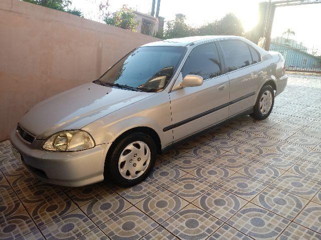 Honda Civic LX Aut. 98 Apenas 119mil Kms Originais