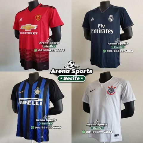 a0871fa6d1 Camisas Futebol - Seleções e Clubes - Grande variedade