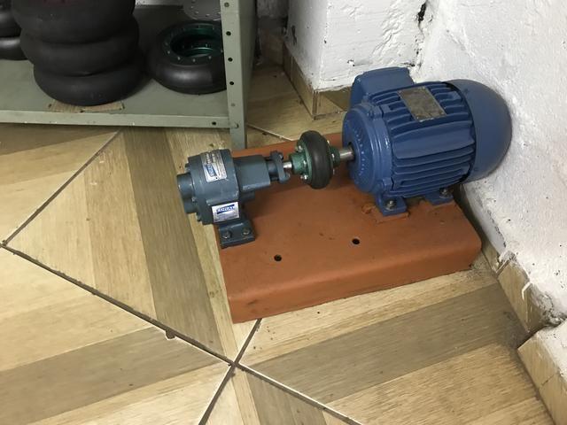 Bomba de engrenagem 1 polegada com motor de 1 vc 1150 rpm