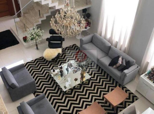 Sobrado com 5 dormitórios à venda, 413 m² por r$ 1.750.000,00 - alphaville - ribeirão pret