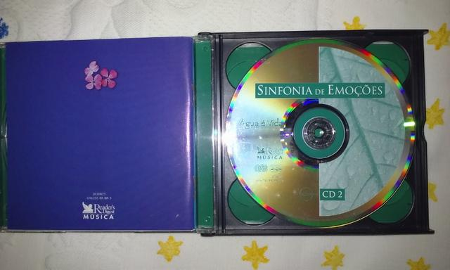 Cd Sinfonia de Emoções Box 5cds - Foto 2
