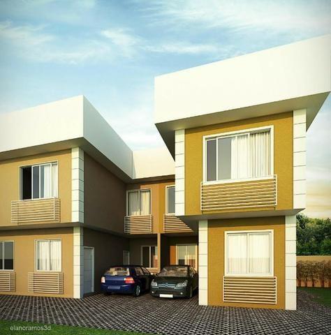 Casas duplex 2 suítes cond.fech. garagem centro C.Grande partir 225mil - Foto 19