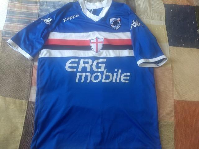 Camisa de futebol Sampdoria kappa - Foto 2