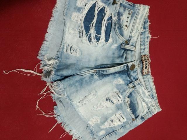 Shorts Jeans Zian - Foto 2
