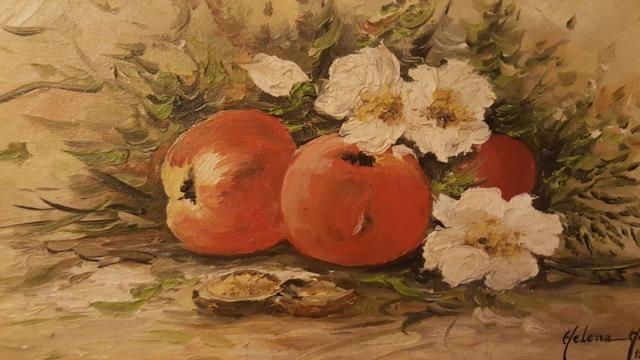 Quadro flores e frutas - Foto 2