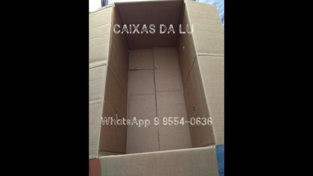 Caixas de Papelão para mudança - R$2,00 (unidade * (whatsApp) - Foto 6