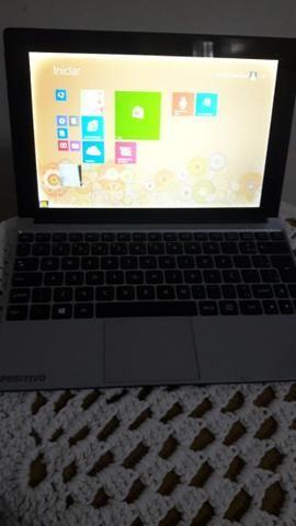Notebook Positivo 2 Em 1 Quad Core 1gb 16gb Ssd