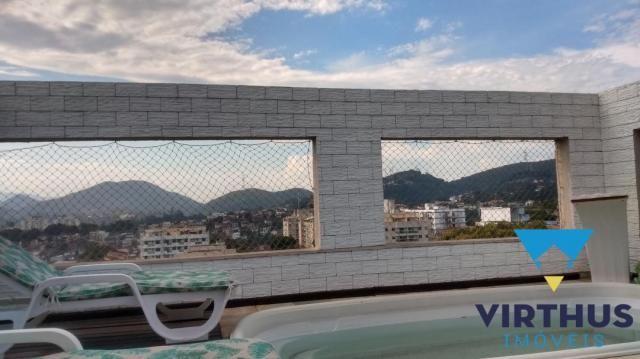 Locação, cobertura, 4 quartos no pechincha - infra estrutura - Foto 3