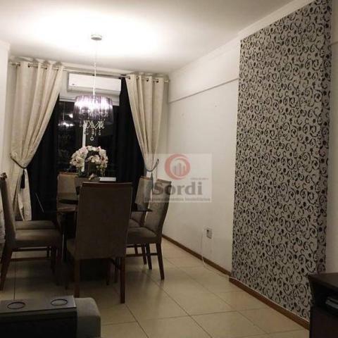 Apartamento com 2 dormitórios à venda, 82 m² por r$ 380.000 - jardim paulista - ribeirão p - Foto 2