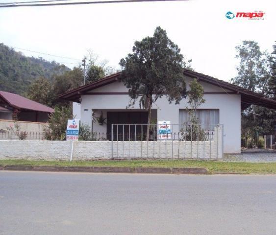 Casa para alugar com 2 dormitórios em Estados, Timbó cod:858