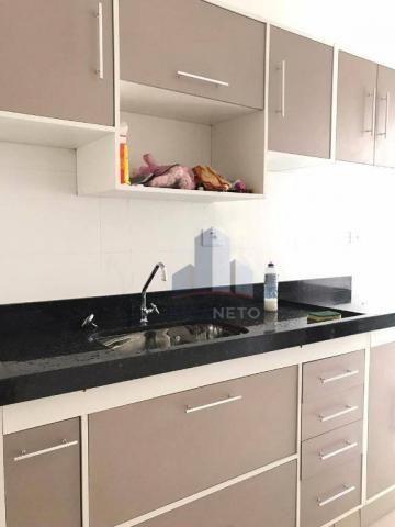 Apartamento com 2 dormitórios para alugar, 68 m² por r$ 1.125/mês - parque são vicente - m - Foto 2