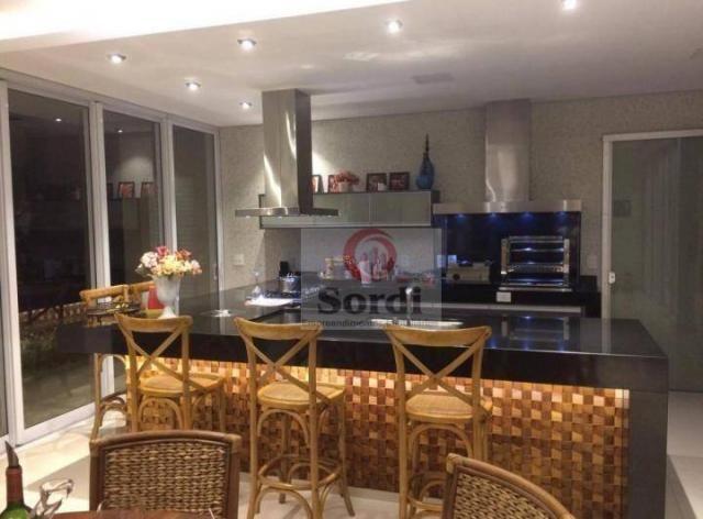 Sobrado com 5 dormitórios à venda, 413 m² por r$ 1.750.000,00 - alphaville - ribeirão pret - Foto 3