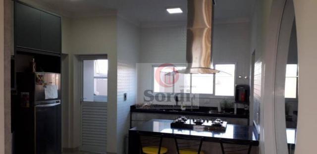 Casa com 4 dormitórios à venda, 304 m² por r$ 1.590.000 - condomínio buona vita ribeirão - - Foto 11