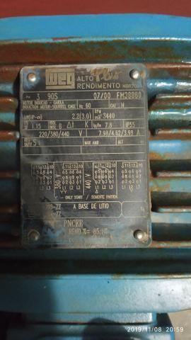 Vendo motor trifásico - Foto 4