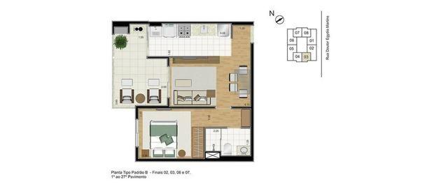 (HN) TR 20905 - Preço de Oportunidade !!! Apartamento novo com 2 quartos no Meireles - Foto 12