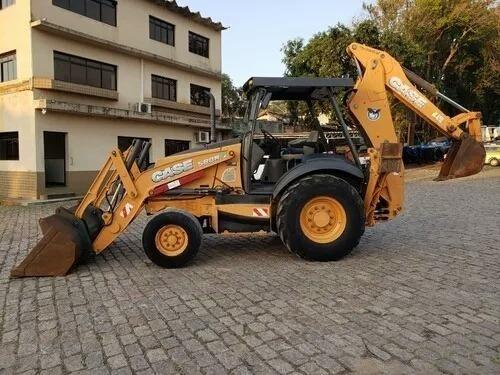 Retro Escavadeira Case 580 N 4x2 Ano 2013 C/ 3.893 Hs - Foto 3