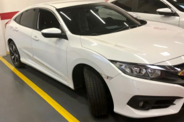 Honda civic EXL mpecável branco estelar - Foto 3