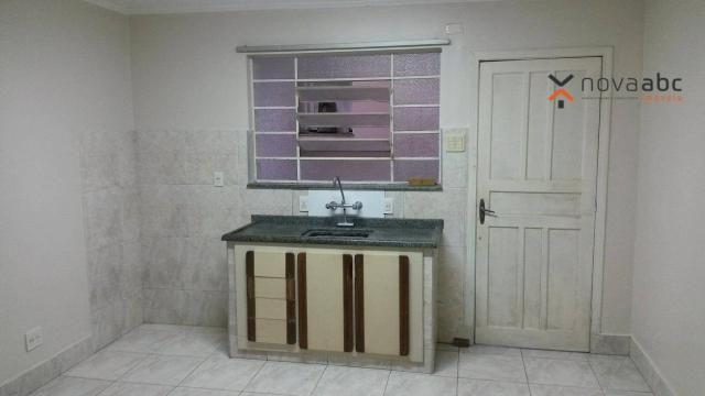 Apartamento com 1 dormitório para alugar, 58 m² por R$ 1.300/mês - Vila Floresta - Santo A - Foto 5