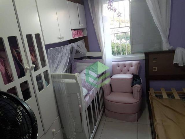 Apartamento com 2 dormitórios à venda, 53 m² por R$ 112.000 - Santa Terezinha - São Bernar - Foto 6