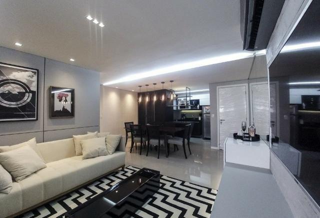 (HN) TR 12109 - Apartamento novo no Cocó com 92m² - 3 suítes - Fino Acabamento - Foto 5