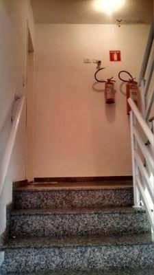 Apartamento com 2 dormitórios para alugar, 40 m² por R$ 1200/mês - Vila Floresta - Santo A - Foto 17