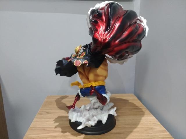 Promo Black Action Figure Luffy Gear 4 King Kong Gun Gk 43cm - Foto 4