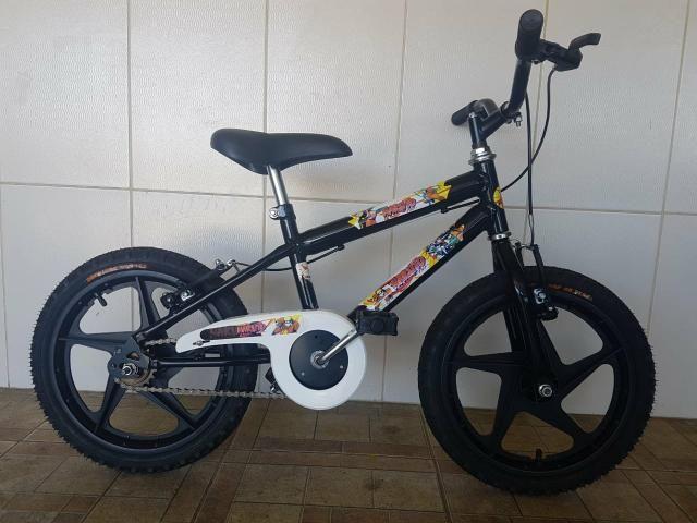 Bicicleta aro 16 nova naruto