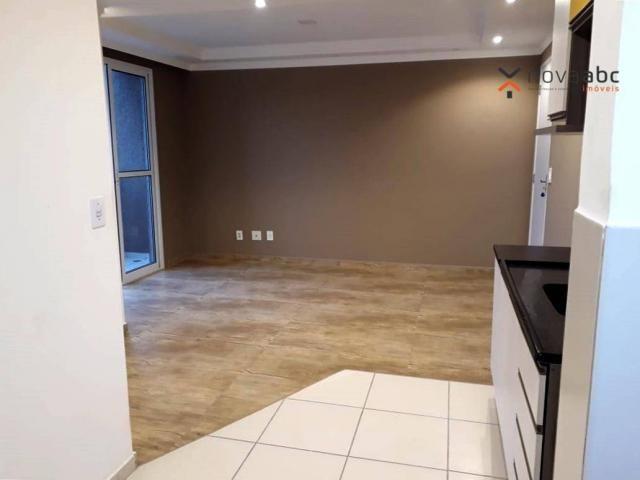 Apartamento com 2 dormitórios para alugar, 46 m² por R$ 900/mês - Vila João Ramalho - Sant - Foto 10