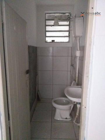 Salão com energia trifásica para alugar, 350 m² por R$ 5.000/mês - Jardim Ana Maria - Sant - Foto 7
