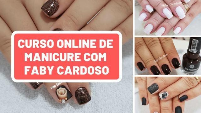 Aulas 100% Online de Manicure e Pedicure (Iniciante) Faby Cardoso - Foto 5