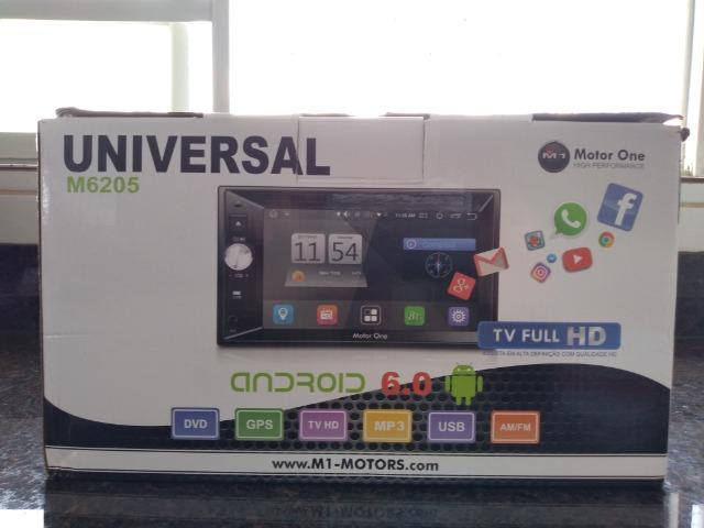 Central Multimidia M1 M-6205 (motor one) 2din, gps,tv Full Hd,android 6.0