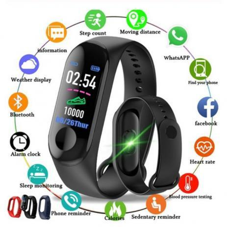Smartband M3 pulseira relógio inteligente Nova