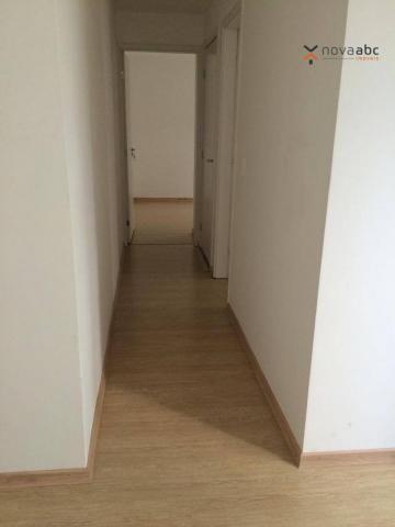 Apartamento com 2 dormitórios para alugar, 47 m² por R$ 1.300/mês - Vila Homero Thon - San - Foto 6