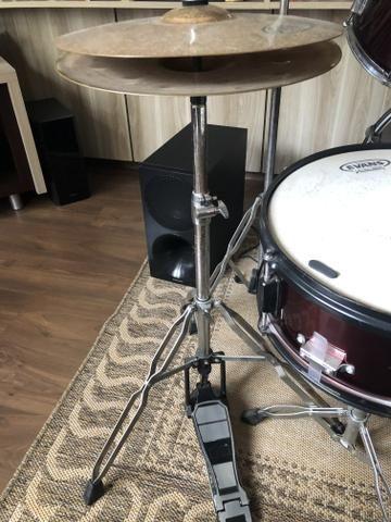 Bateria Art-Drums com Kit de Pratos - Foto 3