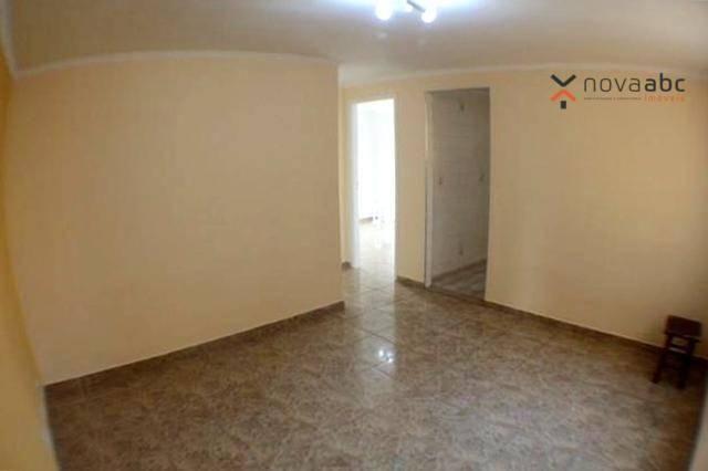 Apartamento com 2 dormitórios para alugar, 50 m² por R$ 1.020/mês - Vila Camilópolis - San - Foto 5