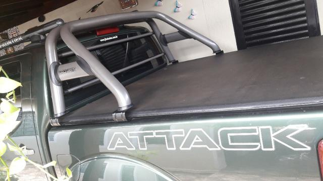 Frontier attck,2.5 4x4 turbo diesel - Foto 3