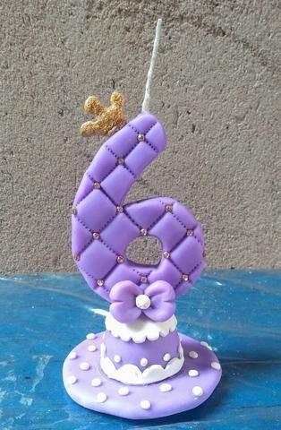 Velas topo de bolo - Foto 5