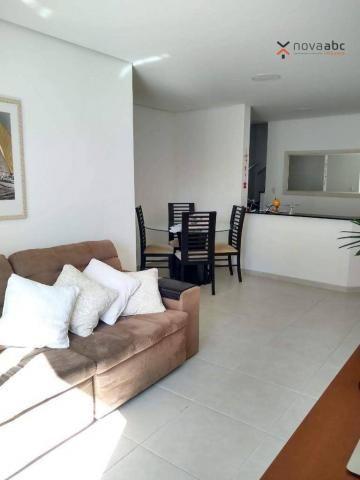 Cobertura com 3 dormitórios à venda, 85 m² por R$ 610.000 - Santa Maria - Santo André/SP - Foto 4