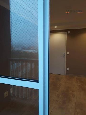 Apartamento com 2 dormitórios para alugar, 46 m² por R$ 900/mês - Vila João Ramalho - Sant - Foto 9