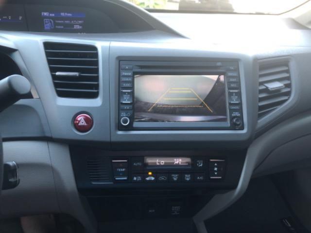 Honda CIvic 2012- Modelo EXS mais Completo com Teto Solar e Banco de Couro - Foto 11