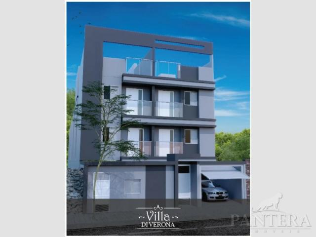 Apartamento à venda com 2 dormitórios em Santa maria, Santo andré cod:56256