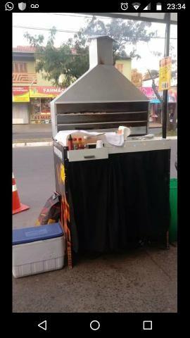 Vendo churrasqueira R$ 500,00