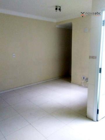 Apartamento com 2 dormitórios para alugar, 56 m² por R$ 1.100,00/mês - Parque Oratório - S - Foto 6