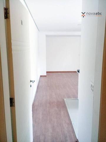 Apartamento com 3 dormitórios para alugar, 85 m² por R$ 2.500/mês - Jardim - Santo André/S - Foto 2