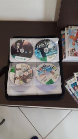Xbox 360 + Kinect + controles + jogos (destravado) - Foto 6