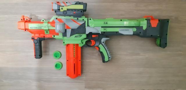 Nerf Nitron Usada (funciona) - Foto 5
