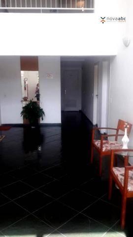 Apartamento com 2 dormitórios para alugar, 56 m² por R$ 1.200/mês - Utinga - Santo André/S - Foto 3
