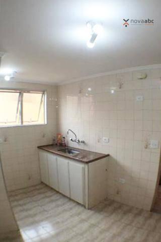 Apartamento com 2 dormitórios para alugar, 50 m² por R$ 1.020/mês - Vila Camilópolis - San - Foto 7